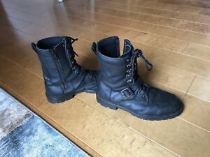 Motorcycle boots size 11