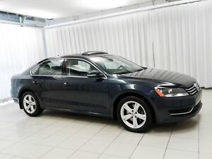 2014 Volkswagen Passat TSI TURBO SEDAN WITH SUNROOF, HEATED SEAT