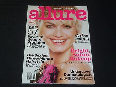 2014 June Allure Magazine   Amber Valletta   Fashion Cover   K 1317
