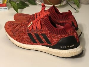 Adidas Ultraboost Uncaged Olympic Red Size 12