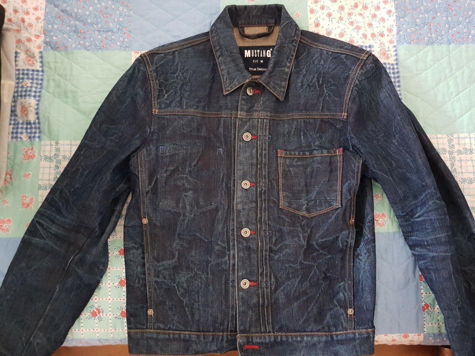 Superbe veste en jean mustang (taille m)