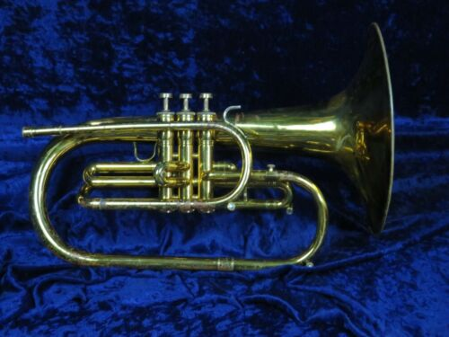 Conn USA F Mellophone Ser#971194 Strong Player with a Nice Big Sound!