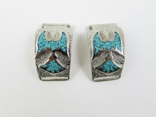 Watchband Tips Water Bird Turquoise ... SKU:47