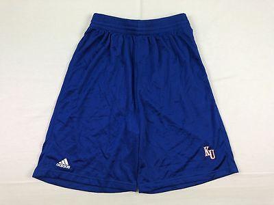 (NEW adidas Kansas Jayhawks - Blue Nylon Shorts (Multiple Sizes))