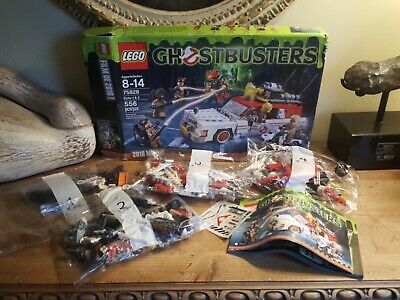 LEGO Ghostbusters Ecto-1 & 2 75828 Complete New Sealed bags open damaged box