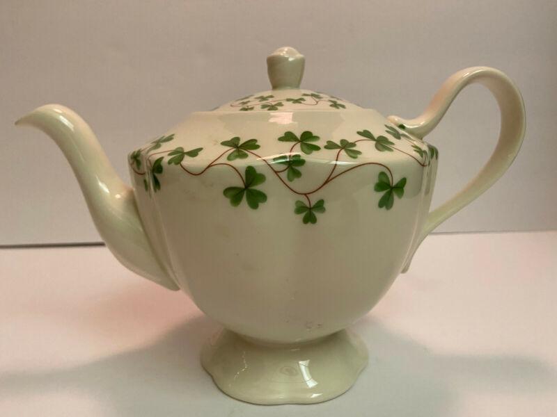 I. Godinger - Shannon Irish Shamrock Porcelain Tea Pot