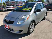 2008 Toyota Yaris LE 4 DOOR HATCH AUTO AIR LOW KMS...MINT COND.