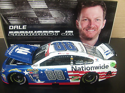 Dale Earnhardt Jr 2016 Nationwide Salutes #88 Chevy SS 1/24 NASCAR
