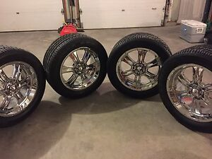 Goodyear Eagle GTII 285 50 R20 tires & rims