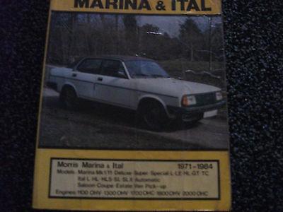 MORRIS MARINA & ITAL 1971-84 Autodata Car Repair Manual