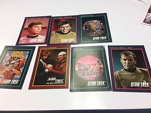 Collector cards star trek