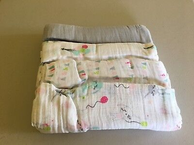 NEW ADEN and ANAIS Muslin Cotton Swaddle Blanket You Pick