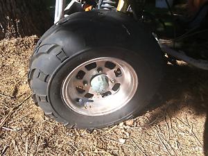 Aluminum rims/tyres x 4 Orelia Kwinana Area Preview