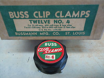 Buss No. 4 Fuse Clip Clamp Type B Type D Fuse Clamps Lot Of Five