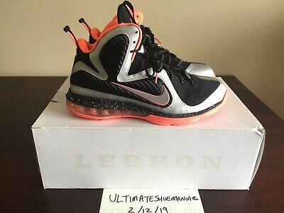 61427ebbb72 Nike Lebron 9 IX Mango Size 9