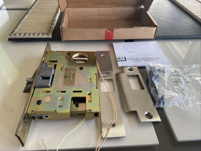 Precision Hardware Stanley Stainless Mortise ONLY Fire Exit Divice LHRB. PHI