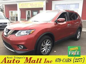 2014 Nissan Rogue SL/Leather/Nav/Sunroof