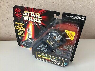 COMMTALK LECTOR ELECTRÓNICO - STAR WARS - EPISODIO I CASTELLANO - 1999...