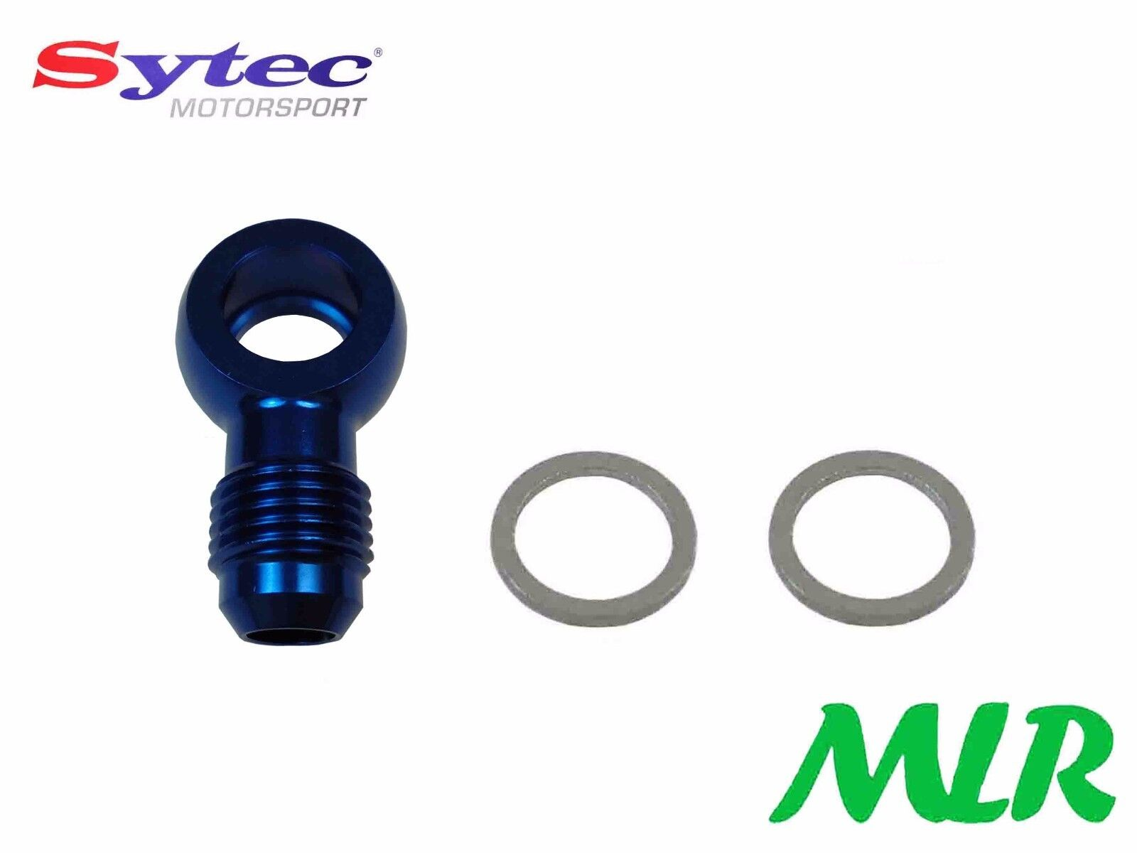 SYTEC ALLOY FUEL BANJO UNION 12MM 6JIC BLUE INJECTION CARBURETTOR MLR.AYX