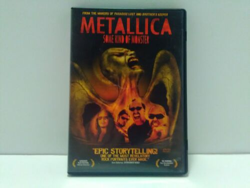 Metallica Some Kind Of Monster DVD - $6.00