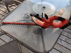 Rechargeable Hedge Trimmer