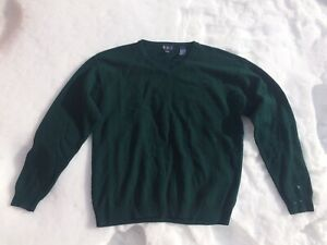 New Men's 100%  pure lambs wool sweater (size XL)