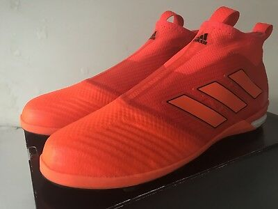 Adidas ACE Tango 17+ Purecontrol BY2228 Solar Red Size 11.5
