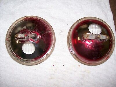 Ih Farmall Pair Rear Bulbs For Flat Back Lights