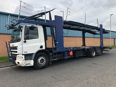 2008 DAF CF 310 BELLE 7 CAR TRANSPORTER 26 TON HGV RECOVERY TRUCK