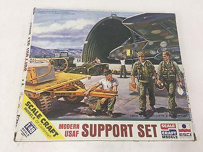 Vintage Scale Craft ESCI Modern USAF Support Set SC-4025 NIOB