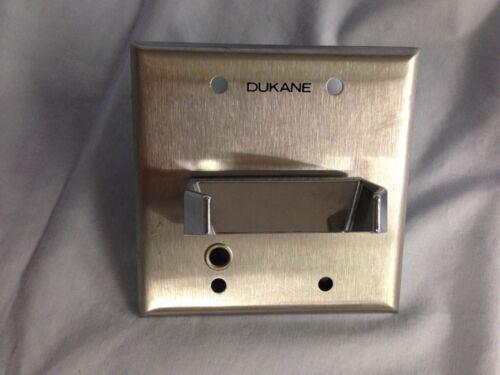 Dukane 9A1520A Wallplate and Hookswitch Assembly