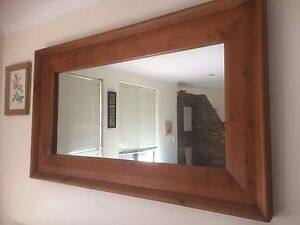 Large Wooden Mirror Kardinya Melville Area Preview