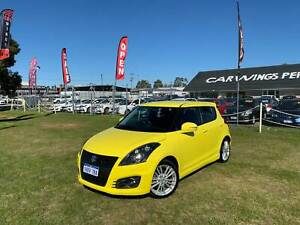 2013 SUZUKI SWIFT SPORT AUTOMATIC LOW KMS 36 MONTHS FREE WARRANTY Kenwick Gosnells Area Preview