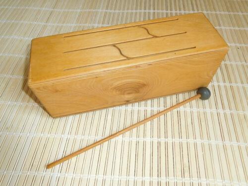 Nova Diversified Slit Tongue Wooden Percussion Log Drum Beginner