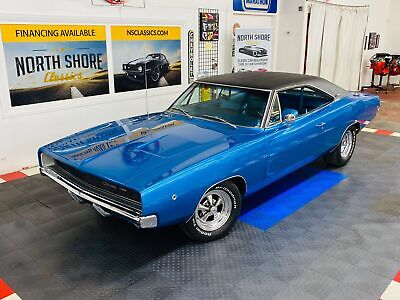 1968 Dodge Charger - NUMBERS MATCHING 383 -  AUTOMATIC TRANS -CLEAN B 1968 Dodge Charger, Blue with 66,167 Miles available now!