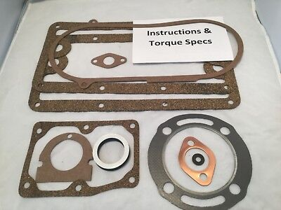 10 Piece Gasket Set For John Deere 3 Hp Type E Hit Miss Gas Engine For Waterloo
