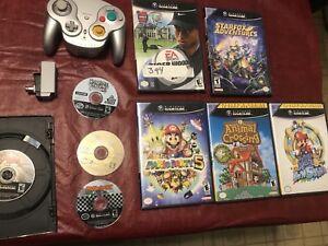 GameCube games and wave bird controller