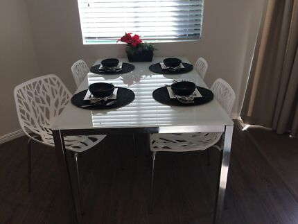 Black leather dining chairsOther KitchenDiningGumtree