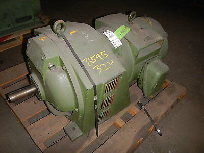 40 Hp Dynamatic Variable Speed Motor 9092 130-1695 Rpm 45 V Dc Clutch