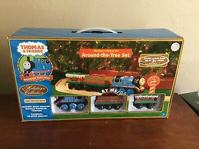 Thomas and Friends Around the Tree Christmas Train Set NEW in Box RARE