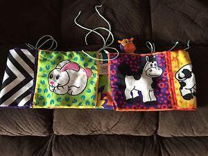 Bundle of Lamaze Baby Cot Bumper and Hanging Toys Werrington Penrith Area Preview