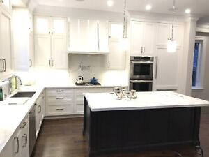 Brand new contemporary kitchen cabinets