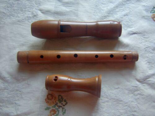 Wooden Mollenhauer Chorus Alto / Treble  Recorder, Baroque  Pearwood