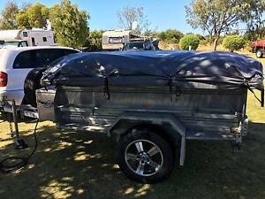 2007 Custom Camper Trailer with 2016 EzyTrail TN230 Tent Quinns Rocks Wanneroo Area Preview