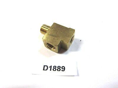 Brass Fitting 18 Npt Street Run Tee Inv D1889
