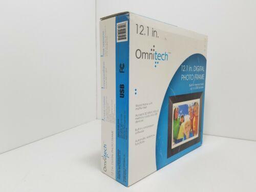 Omnitech 12.1 Inch Digital Photo Frame Built In Memory Frame Picture Album CC736