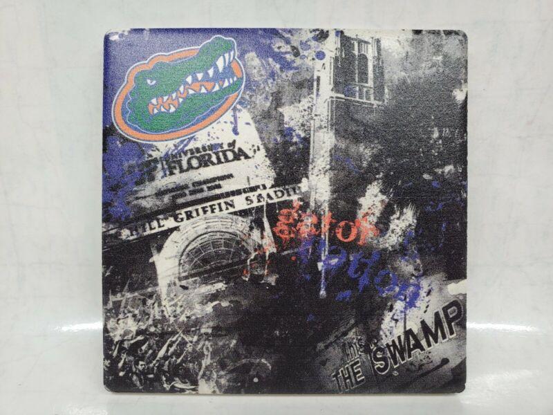 Thirstystone Drink Coaster University Florida Gators The Swamp Ben Hill Griffin