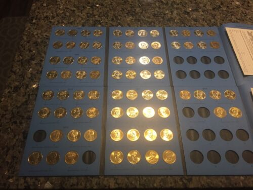 Almost Complete 2007-2016 Presidential Dollar Set Mostly Bu Coins 76 Total  - $99.00