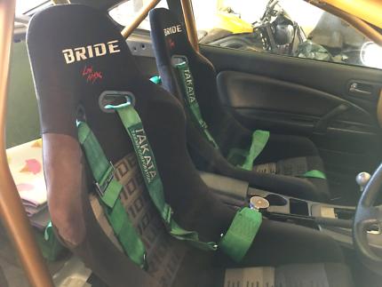 Genuine BRIDE bucket seats