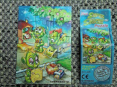 Ü-Ei, Super Spacys Puzzle, mit BPZ, 2001